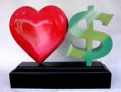 love, then money