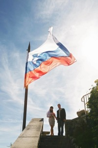 Married in Slovenia!