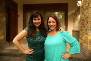 Morgana Rae with Jennifer Poulson