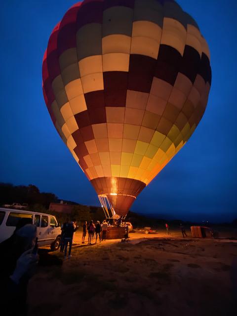 San Miguel de Allende balloon ride