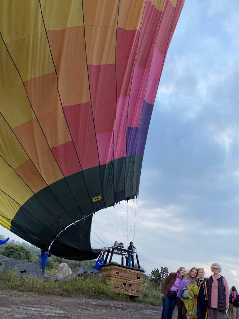 After the San Miguel de Allende balloon ride