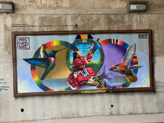 San Miguel de Allende street mural
