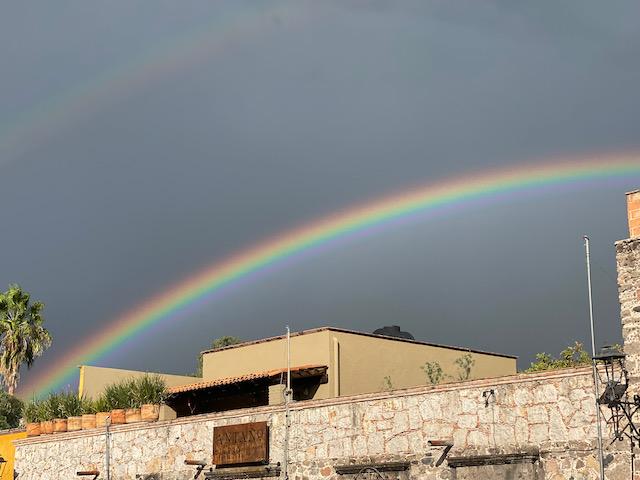 Double Rainbow in San Miguel de Allende